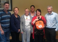 Staff From Electronic Concepts Galway Receiving Their New IPAD-SP1 AED and Training